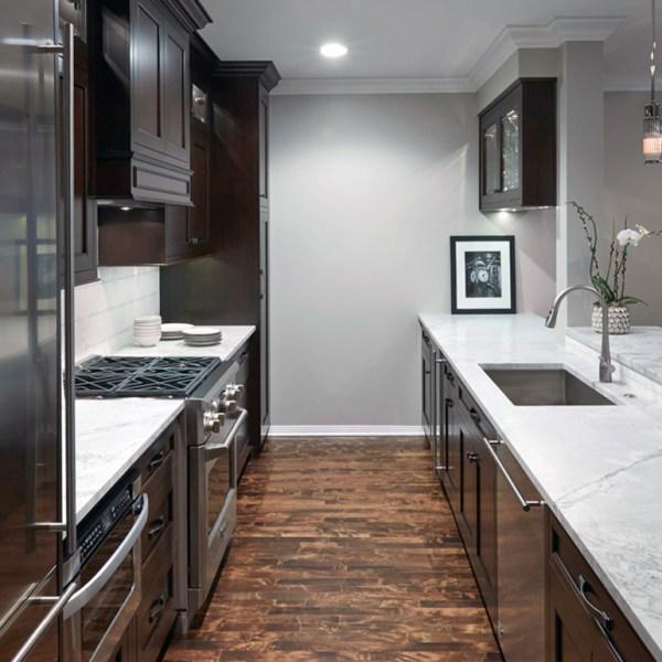 galley kitchen design layout Popular Kitchen Layouts & Designs   Monogram Kitchen