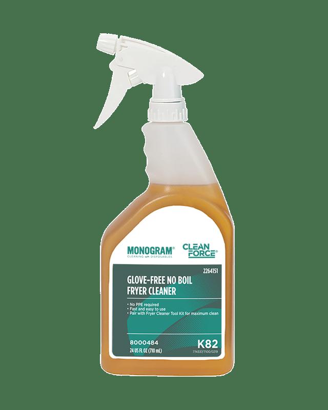 Monogram Clean Force Glove-Free No Boil Fryer Cleaner