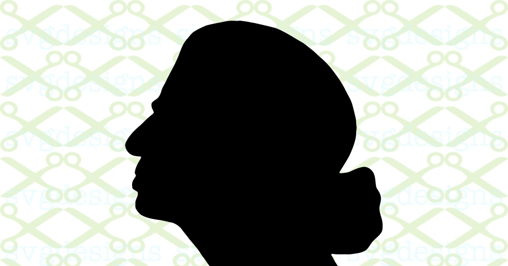 Download RBG Silhouette SVG FILE, Ruth Ginsburg SVG Cricut ...