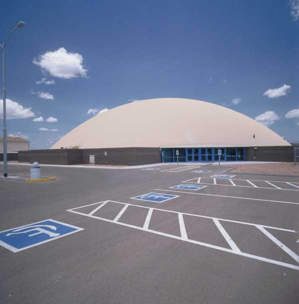 Payson Athletic Center Monolithic Dome Institute