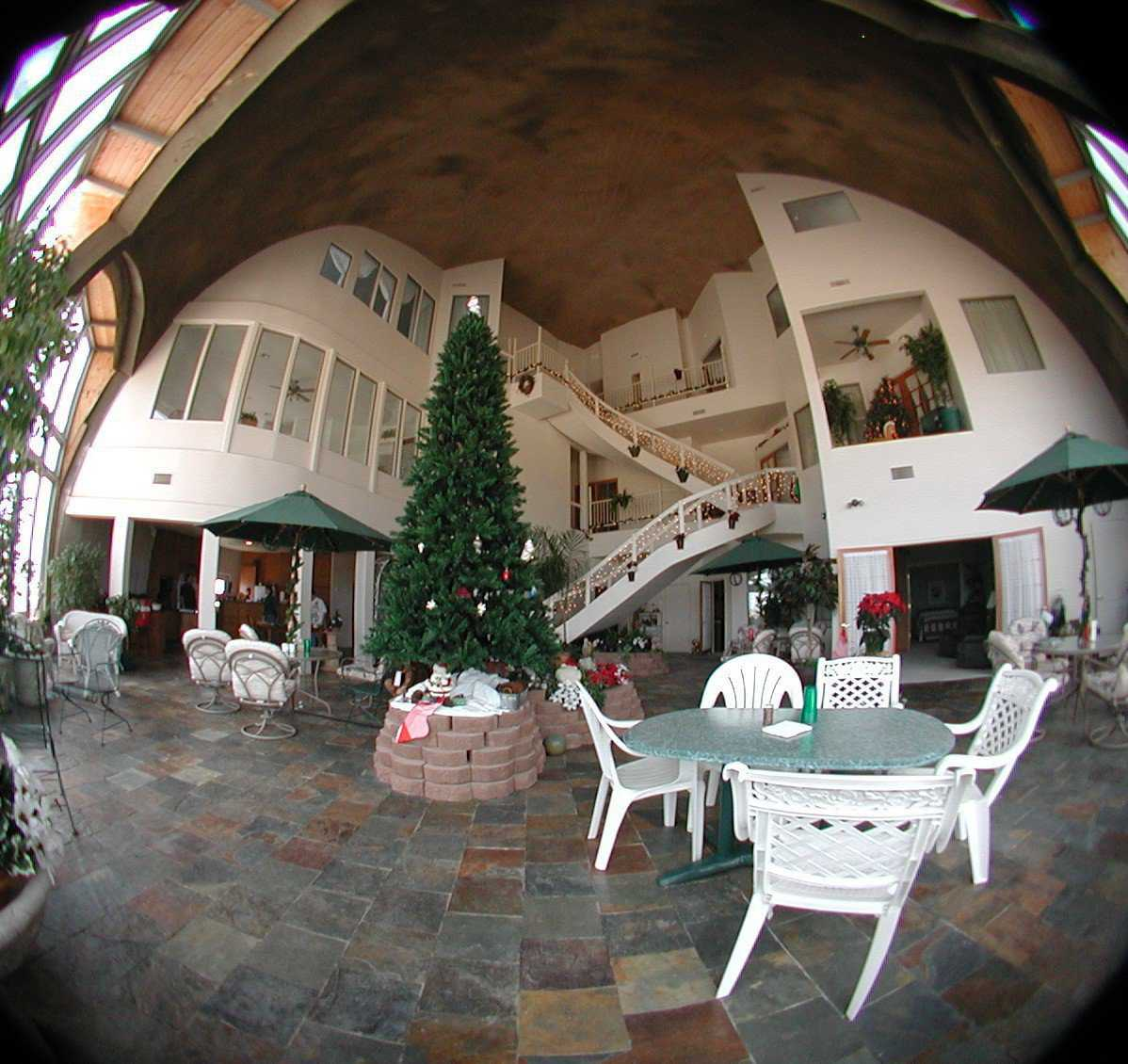Yumadome  A Multigenerational Monolithic Dome Home