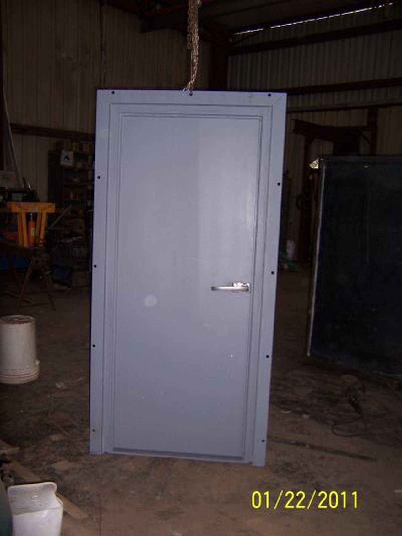Tornado Tamer A Tornado Resistant Door Monolithic Dome