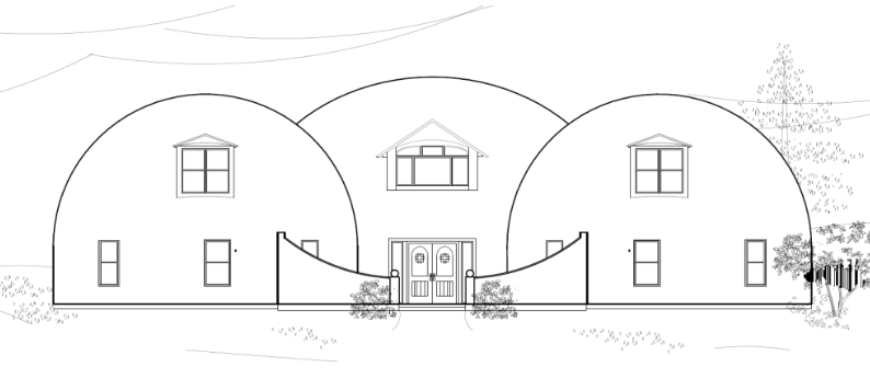 The Whiteacre Dome Home Building Experience from Start to