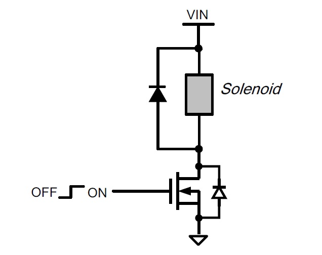 fig 4 solenoid driver circuit