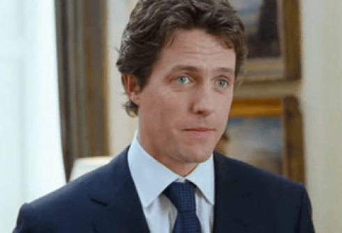 Image result for hugh grant in love actually