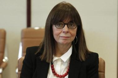Η Αικατερίνη Σακελλαροπούλου είναι η νέα Πρόεδρος της Δημοκρατίας