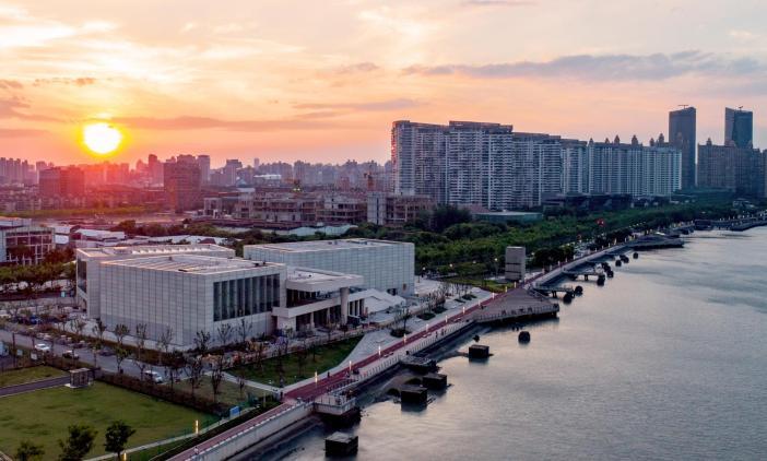 Posto avançado do Centre Pompidou em Shangai