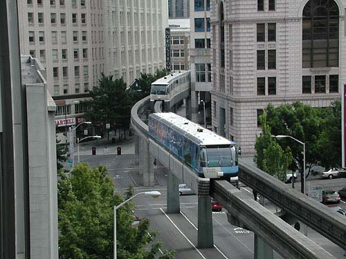 Seattle Center Monorail Photo Special Page 1