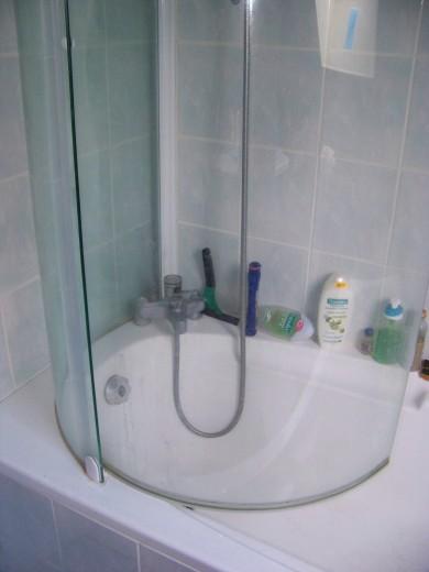 Paroi de douche pour baignoire  Cormeray