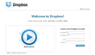 dropbox-creer-un-compte