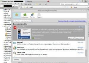 modules complémentaire pour Thunderbird