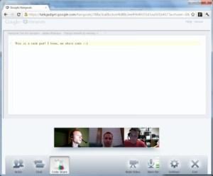 interface Hangouts