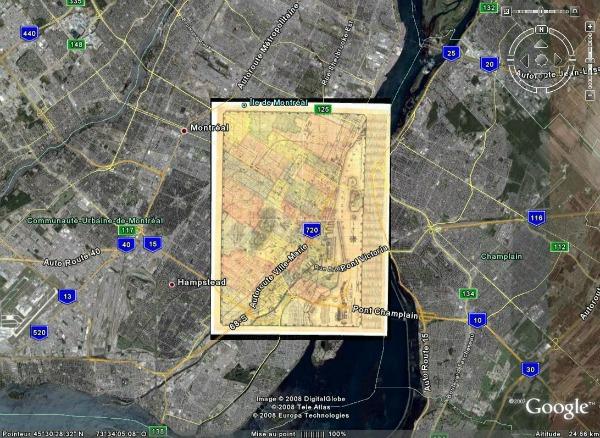 ajouter les noms sur une carte avec google maps