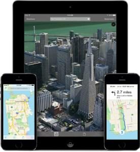 Survoler une ville en mode FlyOver iphone 5