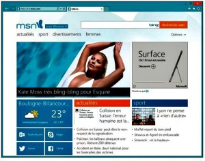 Internet Explorer 11 ne peut être affiché que sur le Bureau