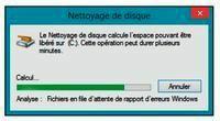 Windows recherche les fichiers inutiles
