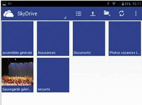 Stocker ses documents sur Skydrive
