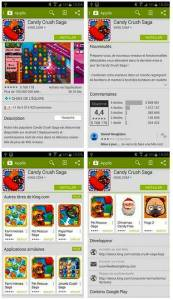 Description d'une application sur Play Store