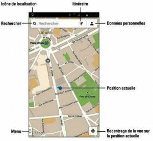 L'application Maps