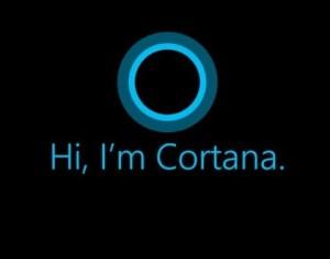 Cortana pour Windows 10