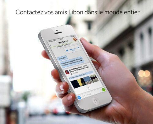 Libon - Application mobile de messagerie d'orange