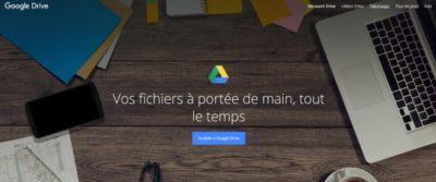 Google Drive est un service de stockage et de partage de fichiers doublé d'une suite bureautique en ligne compatible avec Microsoft Office.