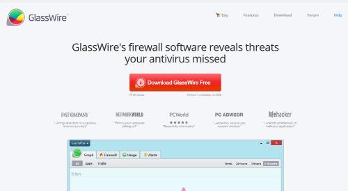 logiciel glasswire