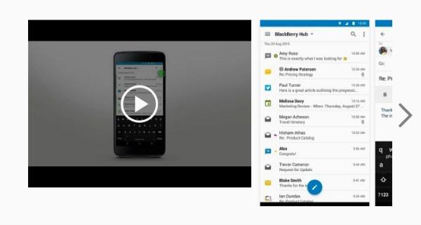configurer votre compte blackberry hub
