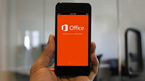 microsoft office pour smartphone