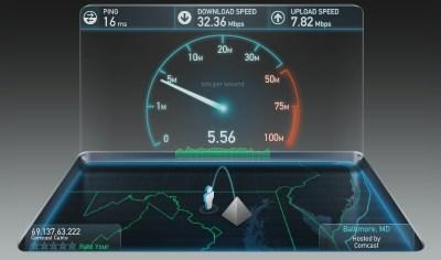 image du site speedtest