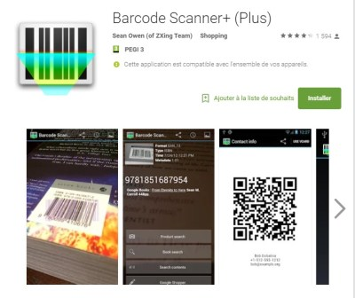 Zxing Barcode Scanner