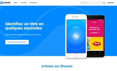 application Shazam