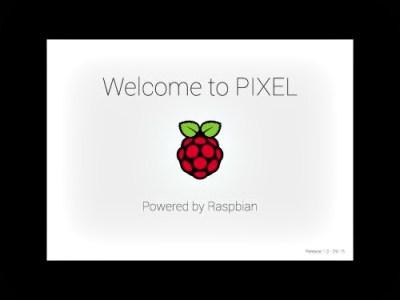 os-pixel raspberry pi