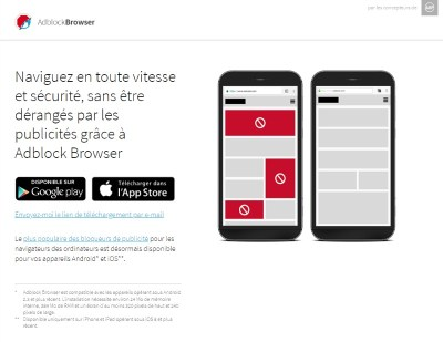 adblock browser pour Android et iOS