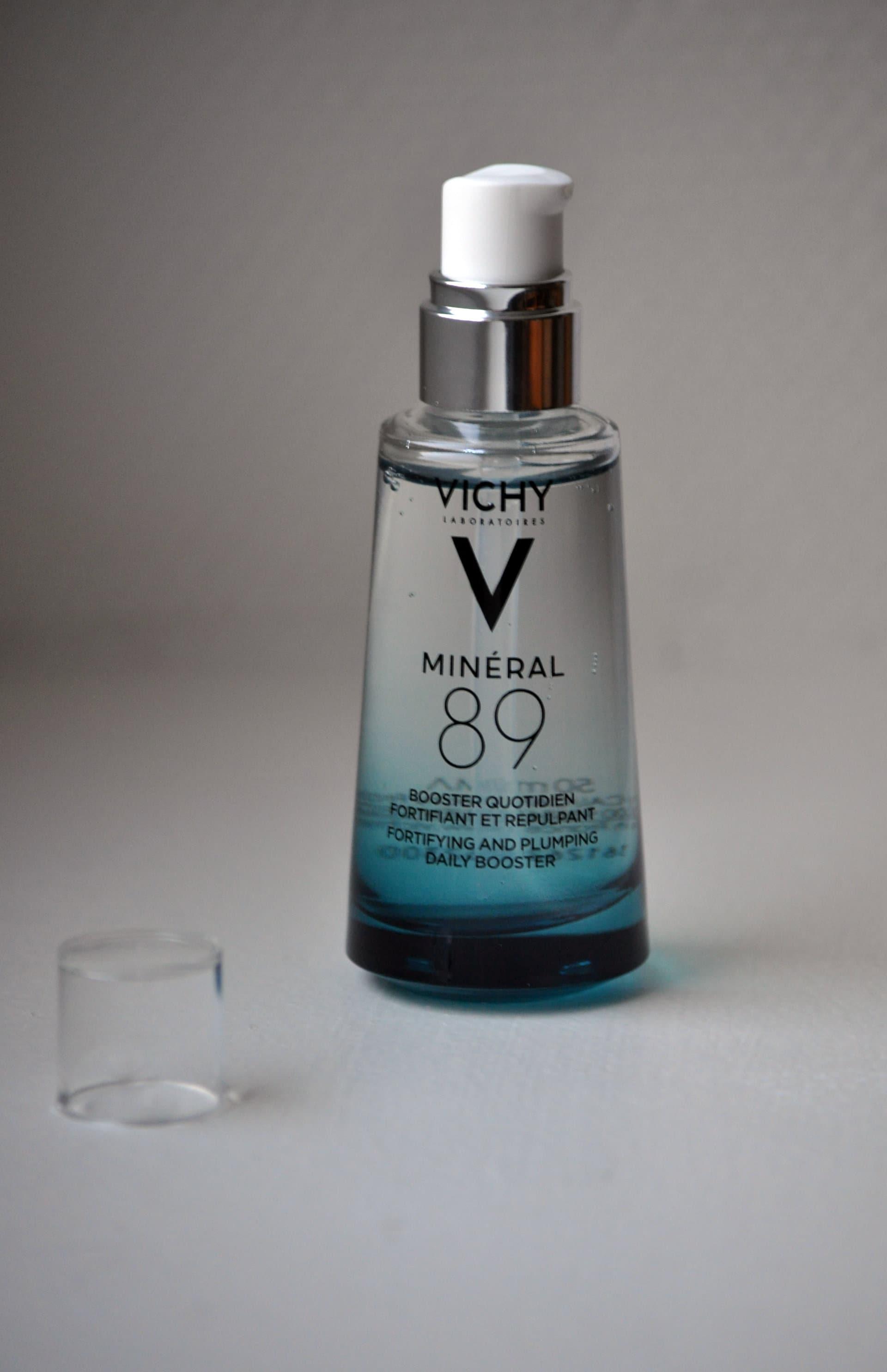 Mineral 89 - Avis et test - Vichy- Mon peau de crème