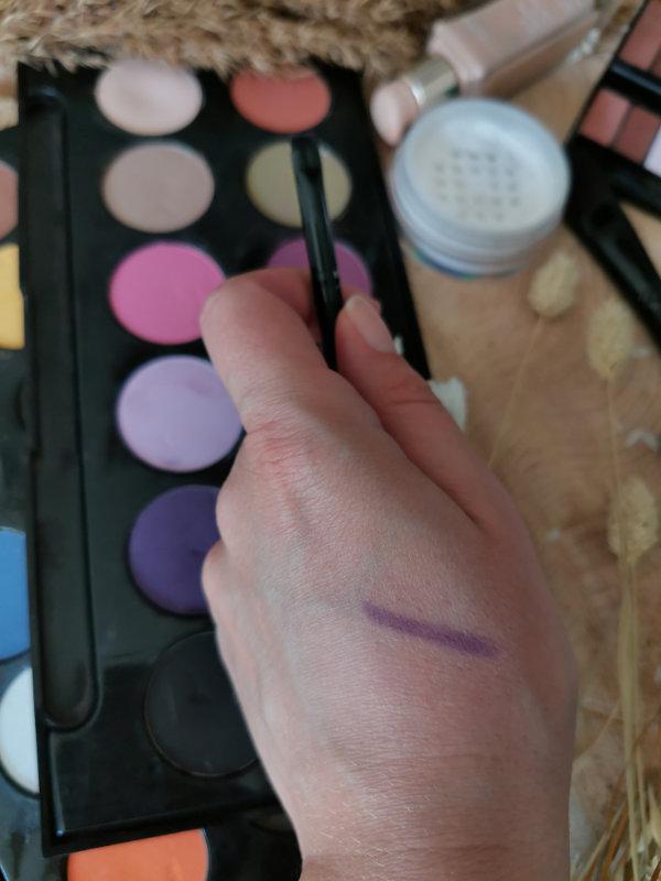 Pinceaux maquillage by passion beauté - Avis - pinceau eyeliner facile et pas cher - Mon peau de crème