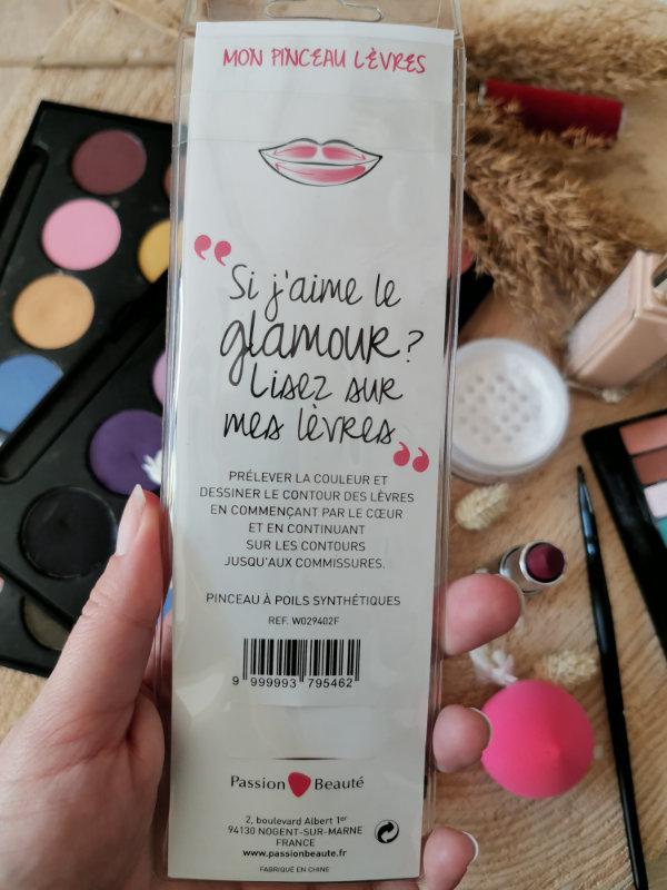 Pinceaux maquillage by passion beauté - Avis - pinceaux maquillage pas cher - Passion beauté - Mon peau de crème