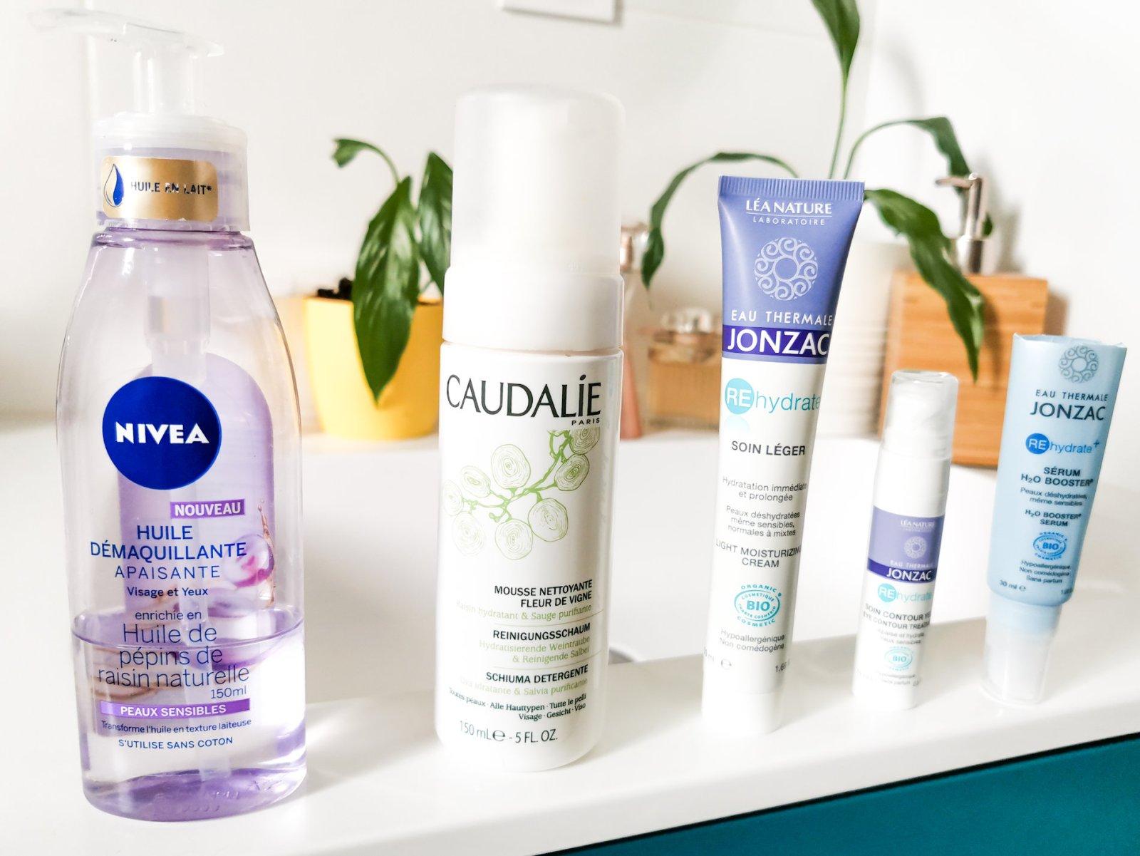 Routine à moins de 30€ - Produits de soins pas cher - Mon peau de crème