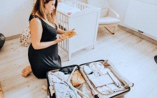 Que prendre dans la valise de maternité - Liste - Mon peau de crème