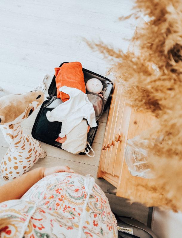 Que prendre dans la valise de salle d'accouchement - Liste - Mon peau de crème