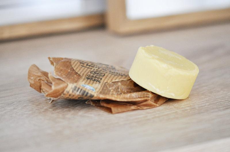 beurre de karité solide vegan zero dechet - Comme Avant - Mon peau de crème