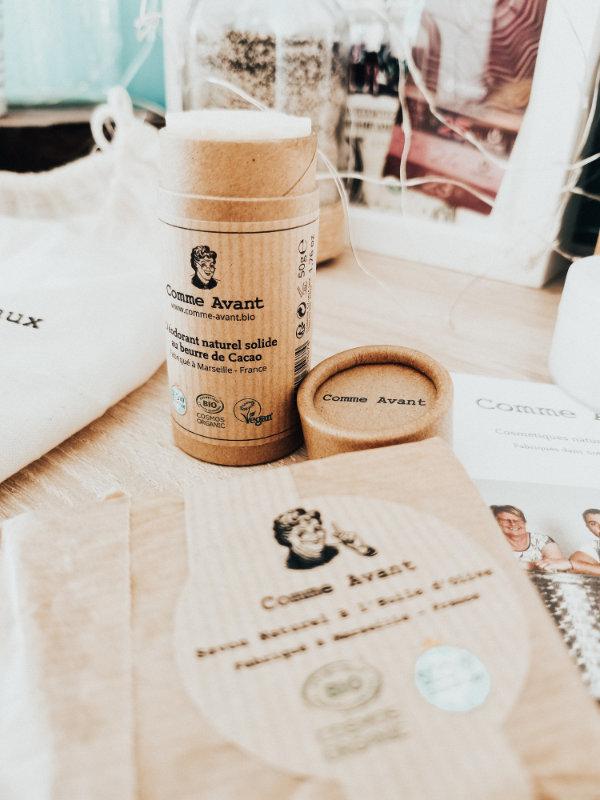 déodorant naturel - Comme Avant - Mon peau de crème