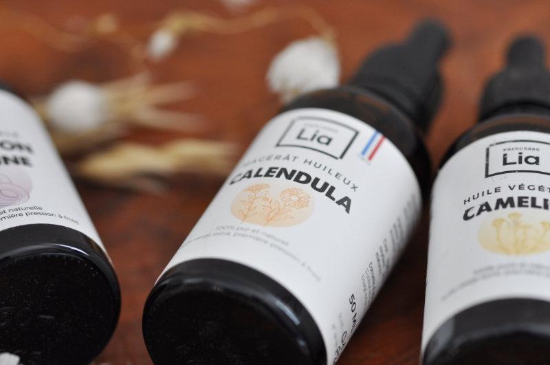 Huile végétale de Calendula - Princesse Lia - Mon peau de crème