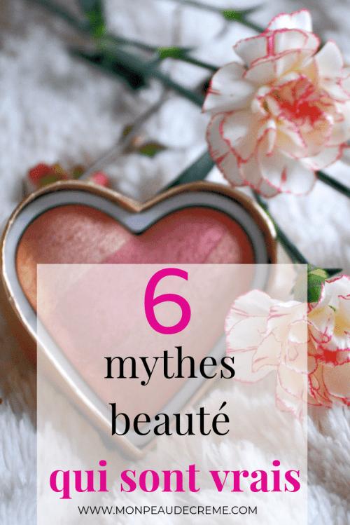 6 mythes beauté qui sont vrais