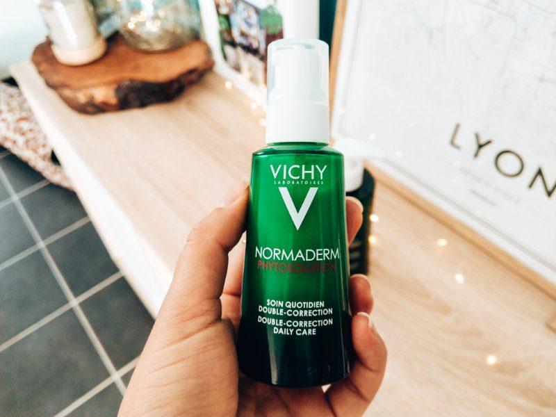 Au secours mon acné revient - Mon peau de creme- Emonoé - Vichy normaderm Phytosolution