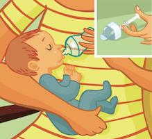 Pipette, granules … Comment donner les médicaments aux bébés