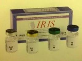 Rappel des extraits allergéniques injectables IRIS