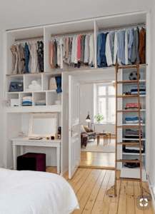 idee dressing gains de place amenager