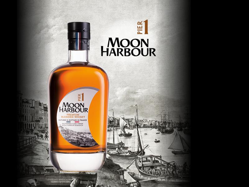 Whisky Moon Harbour, vieilli dans un bunker de Bordeaux - Source moonharbour.fr