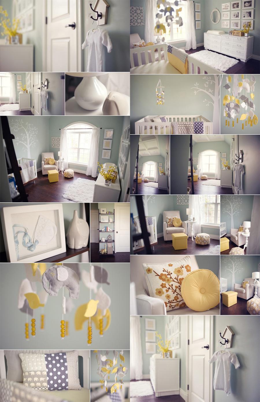 Inspirations  ides dco pour une chambre bb nature et potique